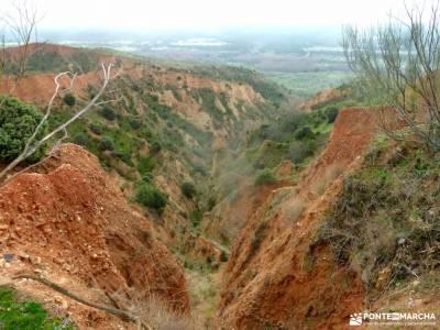 Cárcavas de Patones y Cerro Negro; viajes de una semana viajes febrero trekking material sin guias